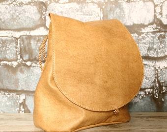Backpack, handbag, crossbody bag, shoulder bag 4 in 1, eco leather, vegan leather, faux leather