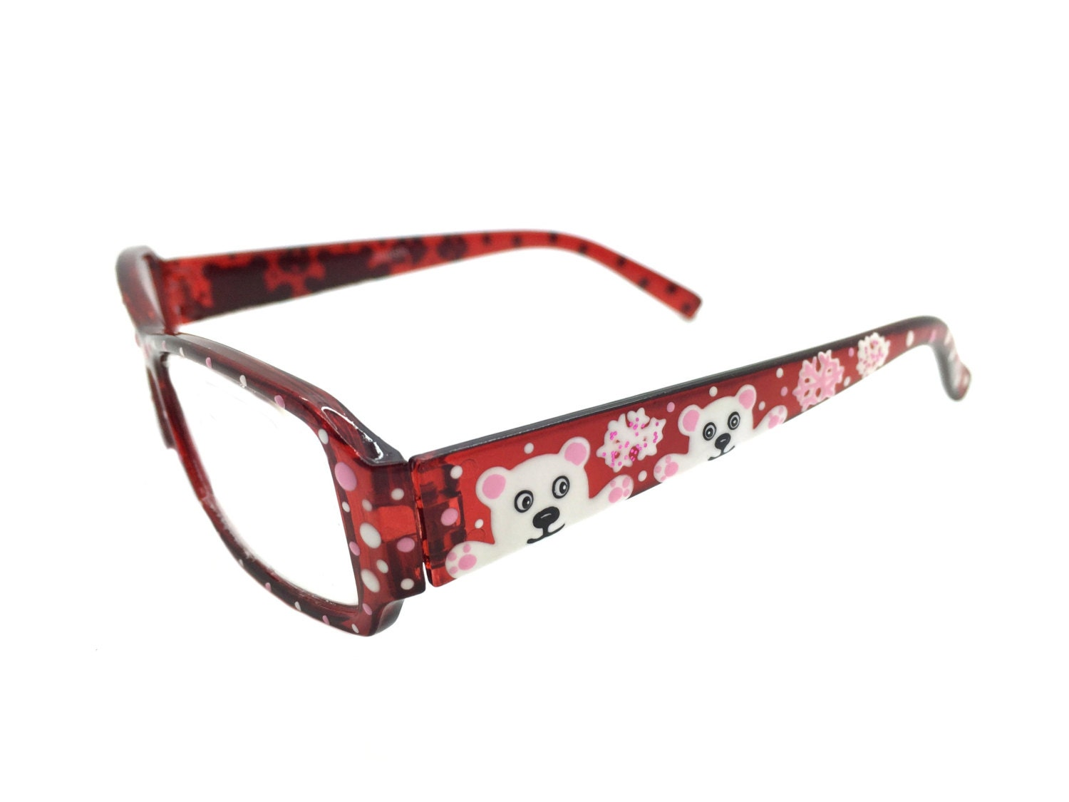 Hand Painted Christmas Reading Glasses