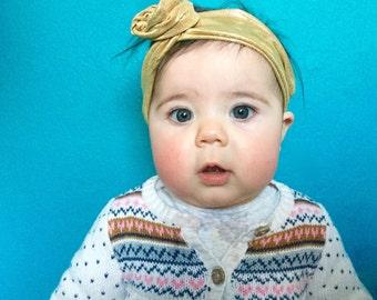 Gold Baby Wire Headband