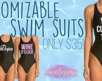 Custom Swim Suits