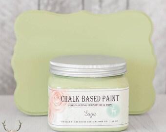 Vintage Storehouse Chalk Based Paint - Sage