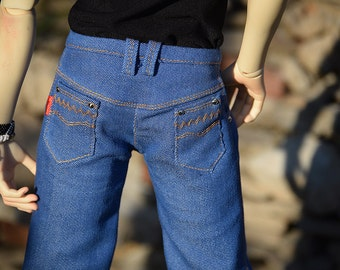 Jeans for SD BJD (Spiritdoll 2nd ver. Proud Male Body)
