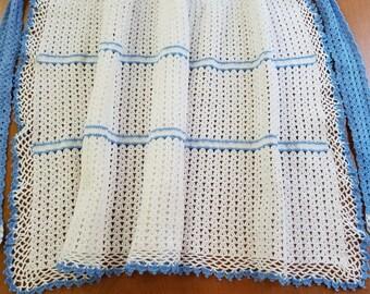 Vintage Crochet Apron  #3