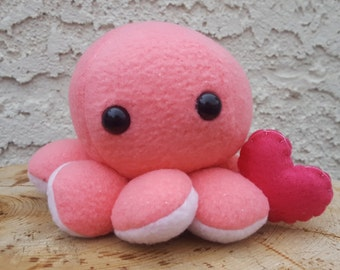 Octopus Plush - Valentine's Day Octopus Gift