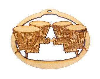 Timpani Drum Christmas Ornament - Timpani Drum Ornament - Kettle Drum Ornaments - Personalized Free