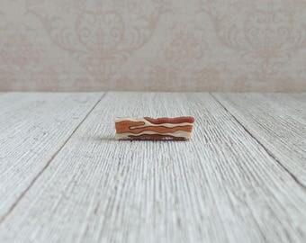 Bacon - Eggs and Bacon - Breakfast - Pork - Lapel Pin