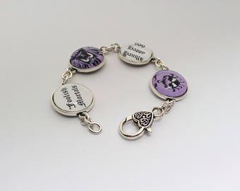 Disney bracelet, Haunted Mansion bracelet, Haunted Mansion wallpaper, Disney jewelry, Haunted Mansion jewelry, foolish mortals