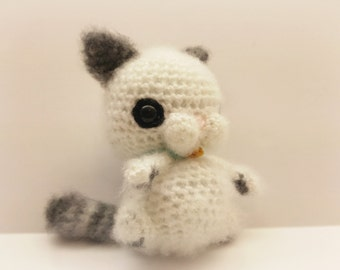 Crochet Chibi Cat ~ Uniquely Yours