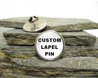 Superhero Pin, Superhero Lapel Pin, Superhero Tie Tack, Custom Photo Lapel Pin, personalized lapel pin, Personalized Photo Pin