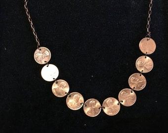 Genuine Penny Necklace