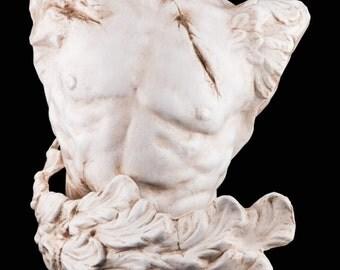 Bust handmade in papier mache | Ermes