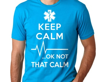Paramedic T-Shirt Funny EMT Tee Shirt Emergency Technician Tee Shirt