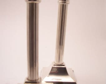 Pair of Vintage International Silver Co. Silver Plated Candlesticks
