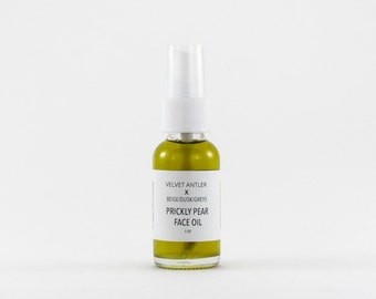 Prickly Pear Face Oil / Face Serum / Moisturizer / Collaboration With Velvet Antler Marfa, Texas