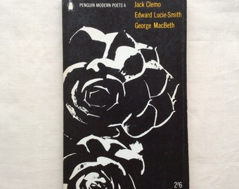 Vintage  Penguin Modern Poets 6, 1964, J Clemo, E Lucie-Smith,G Macbeth, paperback.