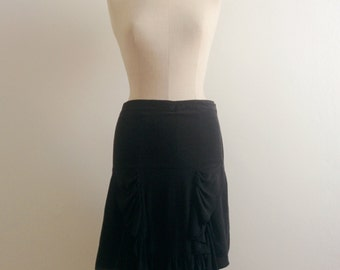 Henrik Vibskov silk skirt with ruffles