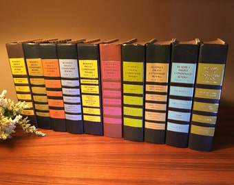 Reader's Digest Condensed Book Volumes - your choice