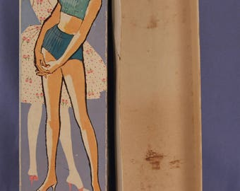 Vintage (Barbie) Midge Doll Box, Blonde, Very Good Condition