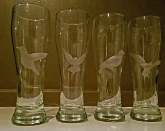 Bird Pilsner glass