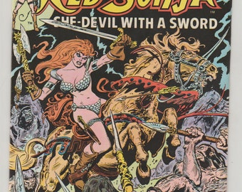 Marvel Feature (presents Red Sonja); Vol 2, 2, Bronze Age Comic Book. VF-. January 1976. Marvel Comics