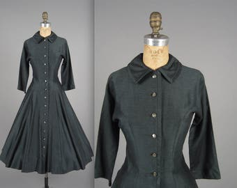 Vintage 1950s Jonathan Logan Dress // 50s party dress