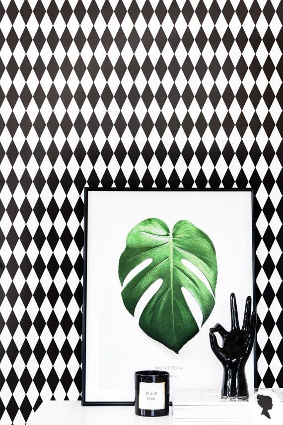 papier peint arlequin traditionnel ou amovible fond d cran. Black Bedroom Furniture Sets. Home Design Ideas