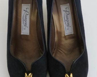 Rangoni of Florence suede pump-sz 6.5