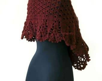 Crochet scarf pattern, crochet shawl, crochet wrap, crochet lace scarf pattern, Crochet wrap, crochet stole pattern, Instant Download /1013/