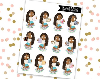 Olivia - Planner || Scribblers // Limited Edition [24HR ONLY] (Glossy Planner Stickers)