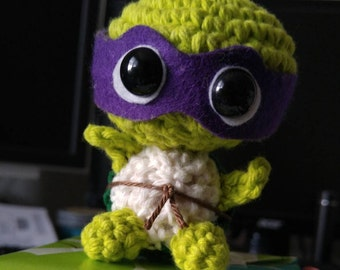 Crochet Teenage Mutant Baby Ninja Turtle