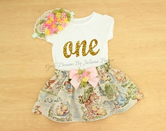 Winnie The Pooh Birthday Outfit, Winnie the Pooh Tutu, Personalized Winnie The Pooh Outfit, Winnie The Pooh Dress, Birthday Tutu, Pooh Dress