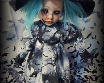 Doll 281 Blue witch