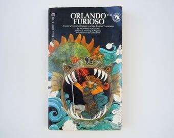 Orlando Furioso Translated by Richard Hodgens Vintage 1970's Paperback