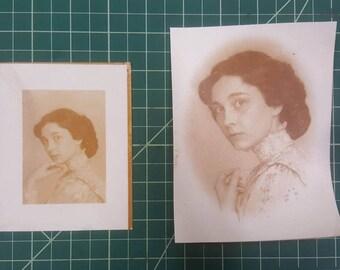 Set of 5 Albumen Prints *Carte de Visite or Cabinet Card*