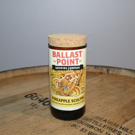 UPcycled Stash Jar - Ballast Point Brewing Co. - Pineapple Sculpin IPA