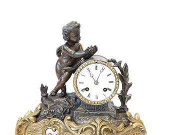 Antique Working French Clock