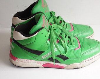 vintage reebok - reebok shoes - reebok sneakers -  reebok vintage - reebok classic - vintage sneakers -