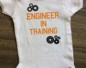 Baby Engineer, Baby Genius Onesie, Future Engineer Onesie, Engineer Dad, Engineer clothing, Engineer baby onesie