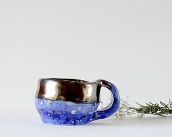SALE Ceramic Pottery Mug, Ceramic Mug, Handmade Pottery, Ceramic Mug, Hand Thrown Pottery, Rustic Pottery, Modern Ceramics, Modern Mug