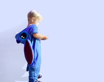 Stitch Baby Onesie Lilo and Stitch Costume Cosplay 12M to 18M >One Year Old < >Baby Boy< >Baby Girl<