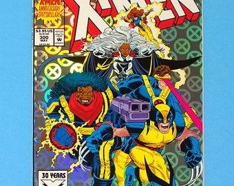 X-Men #300 Comic Book, Marvel Comics X-Men, (Grade NM) 1993, (B1)