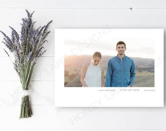 Personalised Printable, Save-the-Date-Printable Card - Esme Collection