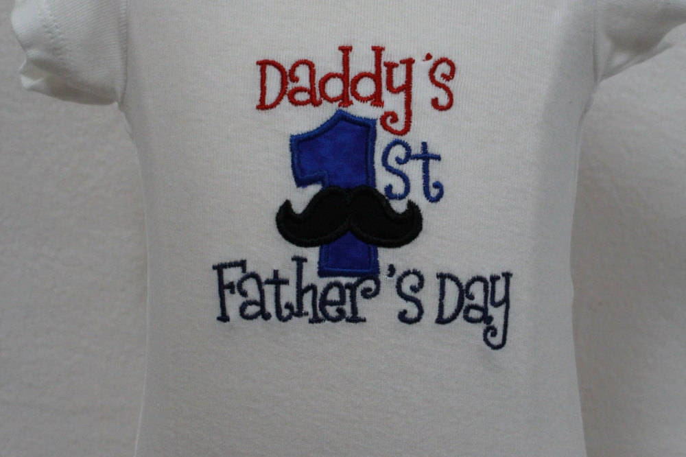 Father 39 S Day Gift First Father 39 S Day Bodysuit Baby Boy