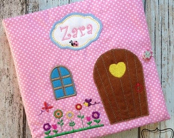 Dollhouse ,Travel Dollhouse, Quiet Book, Personalized, Free delivery