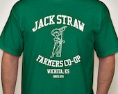 GRATEFUL DEAD Jack Straw - Farmer's Co-Op / Tour Tee - Dead and Company - Fare Thee Well - Furthur - t-shirt