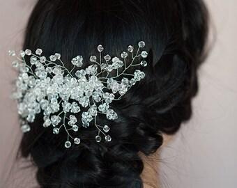 Wedding Hair Comb, Bridal Hair Comb, Bridal Haircomb, Bridal Decorative Clip, Bridal Headpiece, Wedding Hair Clip, Bridal Headdress