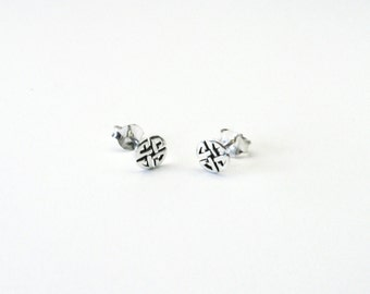 Celtic knot Celtic earrings Silver 925 earrings celtic