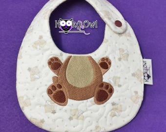 Custom embroidery Baby Bib