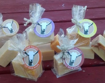 All Natural Goat Milk Soap Variety Pack 2 oz. Bars - 10 bars + 2 Free!