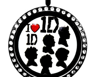 One Direction Floating Charms
